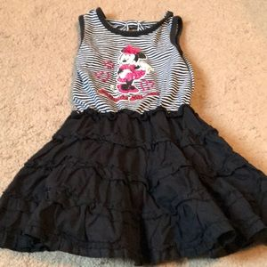 Minnie Mouse ruffled dress size 3T
